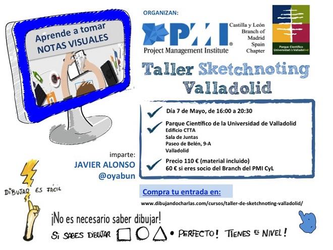 Taller Sketcnoting Valladolid