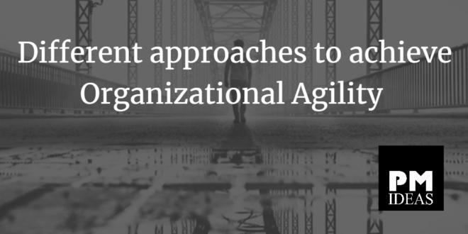 organizational agility, agilidad organizacional