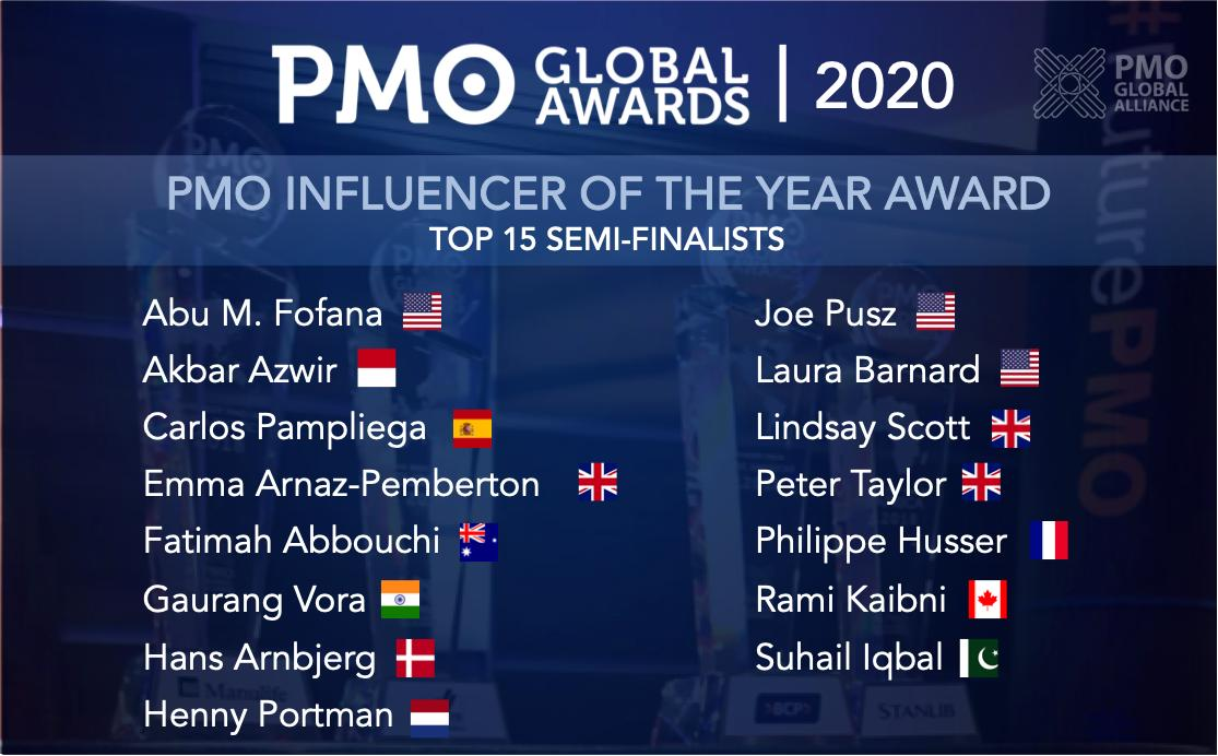 PMO Influencers 2020